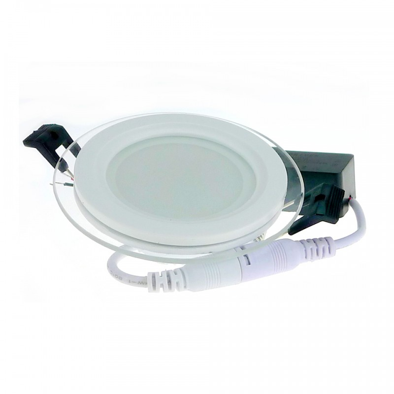 Στρογγυλό LED panel plexiglass 6w cool white 6000k OEM Panel οροφής ee1781
