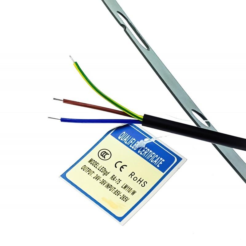 LED προβολέας 100W αδιάβροχος IP66 250 SMD 9.000LM 220V λευκό ψυχρό Προβολείς ee2174