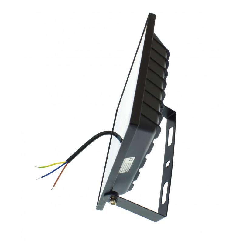 LED αδιάβροχος προβολέας super slim 30W 220V 45 SMD 2700LM 6500K IP66 OEM