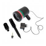 Διακοσμητικός προβολέας laser LED εξωτερικού χώρου OEM RGB ee2343