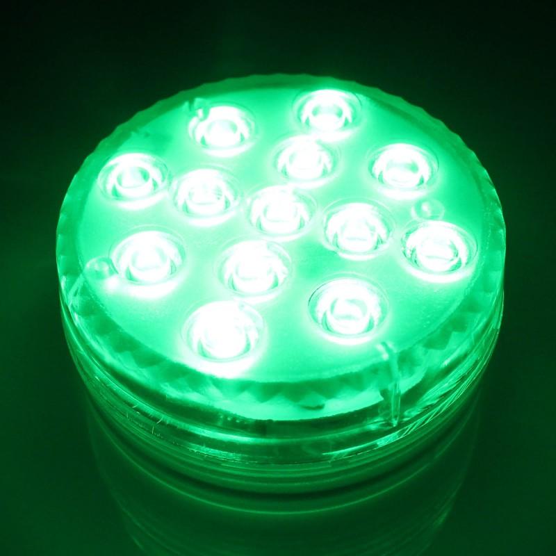 LED Φορητό RGB pod 13 SMD 4.5V 3W IP65 με χειριστήριο OEM