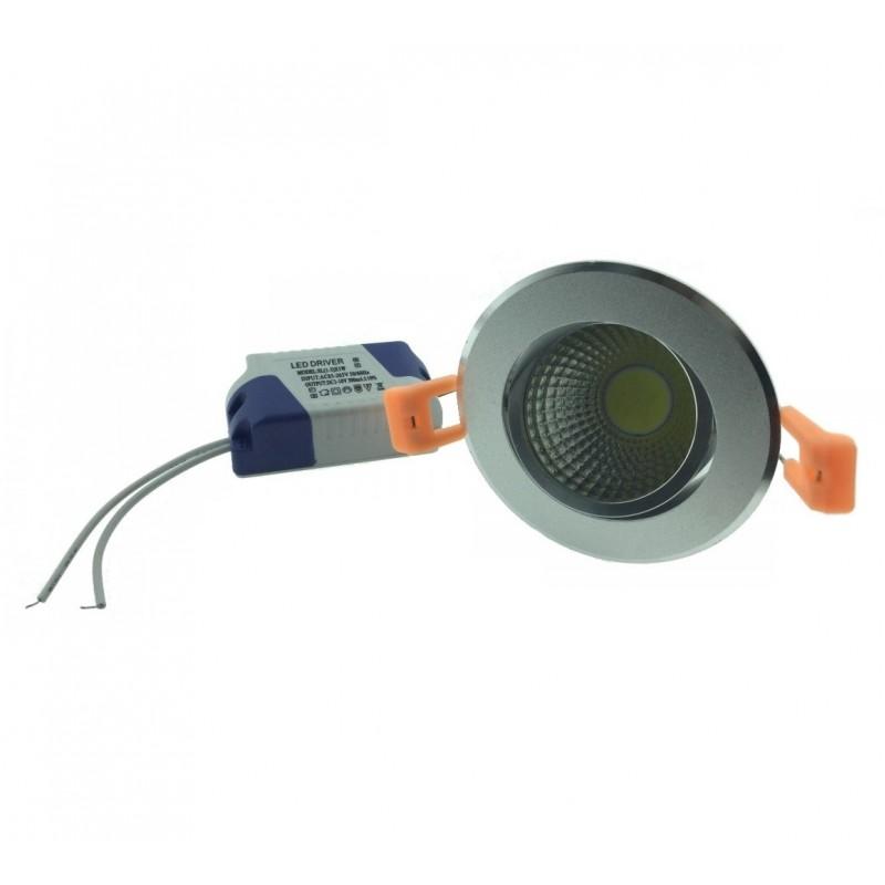 Στρογγυλό χωνευτό spot LED 5W 220V DP-223 ψυχρό λευκό OEM Spot ee2224