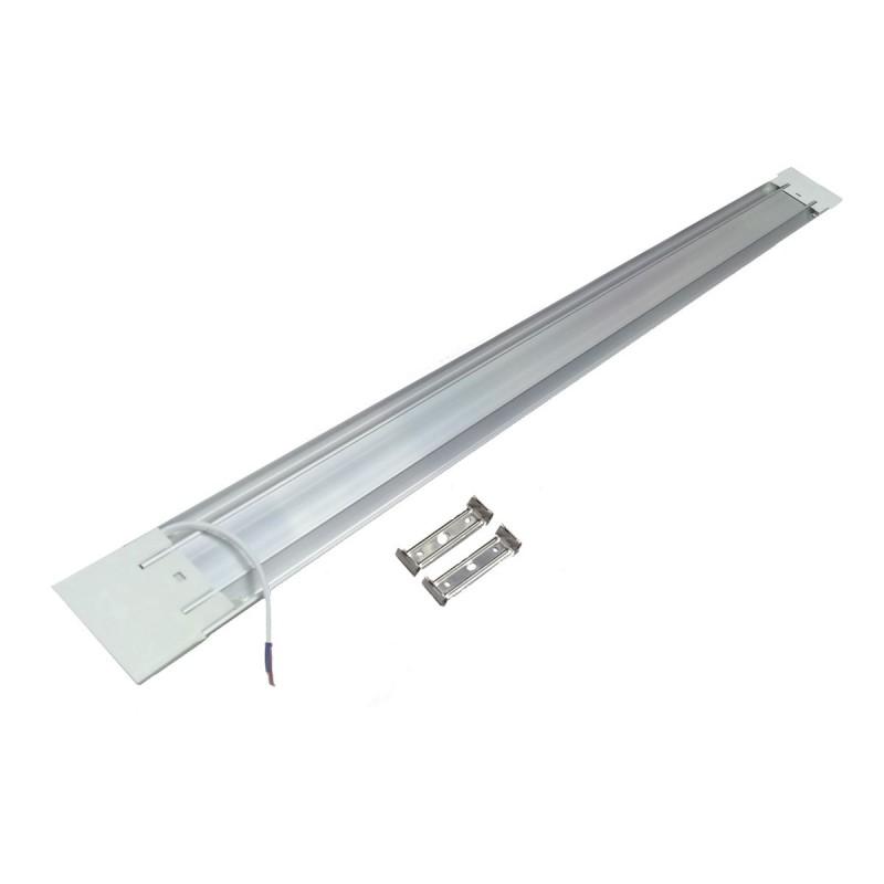 LED μπάρα πλαστική 220V 6500K ψυχρό λευκό 36W 3200LΜ 121.5 X 7.8X 2.2cm OEM