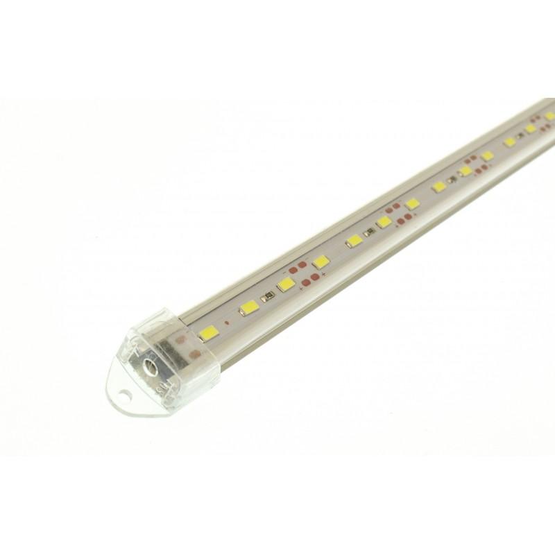 LED μπάρα με κροκοδειλάκια πλαστική 12V 8W 30 SMD 1440lLM 6000K ψυχρό λευκό 50.5 x 1.3 x 2.2cm OEM