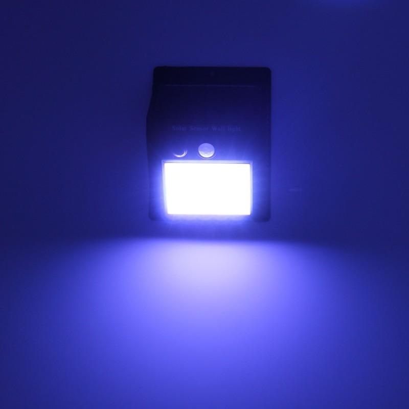 LED ηλιακό φωτιστικό εξωτερικού χώρου με ηλιακό panel και αισθητήρα κίνησης 20 SMD ψυχρό λευκό OEM