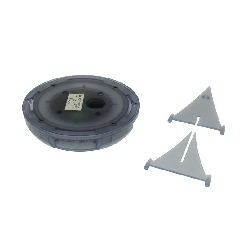 Ηλιακό Καρφωτό - Χωνευτό φωτιστικό με 8 LED Εξωτερικού χώρου IP65 Ψυχρό λευκό FOYU FO-TA015 ΟΕΜ