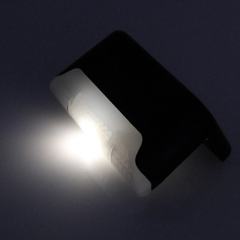 Ηλιακό γωνιακό φωτιστικό νυκτός με 1 LED IP65 ψυχρό λευκό 1 τεμ. ΟΕΜ