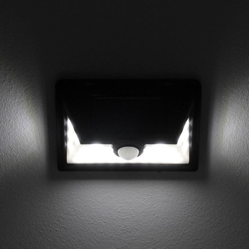 LED Ηλιακό φωτιστικό εξωτερικού χώρου 32 SMD πλαστικό με ηλιακό panel 30W και αισθητήρα κίνησης 2700LM 6500K IP65 FO-TA004 FOYU