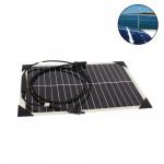 Ηλιακό ημιεύκαμπτο αδιάβροχο πάνελ χωρίς πλαίσιο 18W με ακροδέκτες MC4 INVICTUS SRF-18