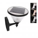 LED Ηλιακό φωτιστικό τοίχου εξωτερικού χώρου 5.5W 6V με ηλιακό panel, τηλεχειριστήριο και 3 διαφορετικούς φωτισμούς TY-CR-BD19-1005 RIXME