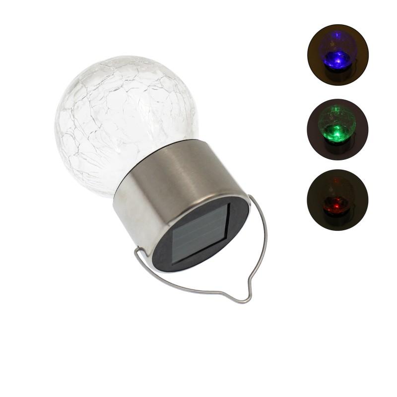 Ηλιακό κρεμαστό φωτιστικό με 1 LED IP65 RGB 1 τεμ. ΟΕΜ