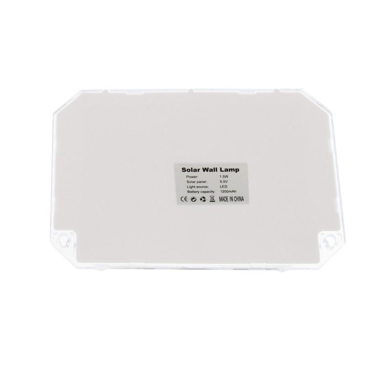LED Ηλιακό φωτιστικό εξωτερικού χώρου 88 SMD 2835 πλαστικό 1.5W 135LM με αισθητήρα κίνησης 6500K IP65 GD-188 GDPLUS