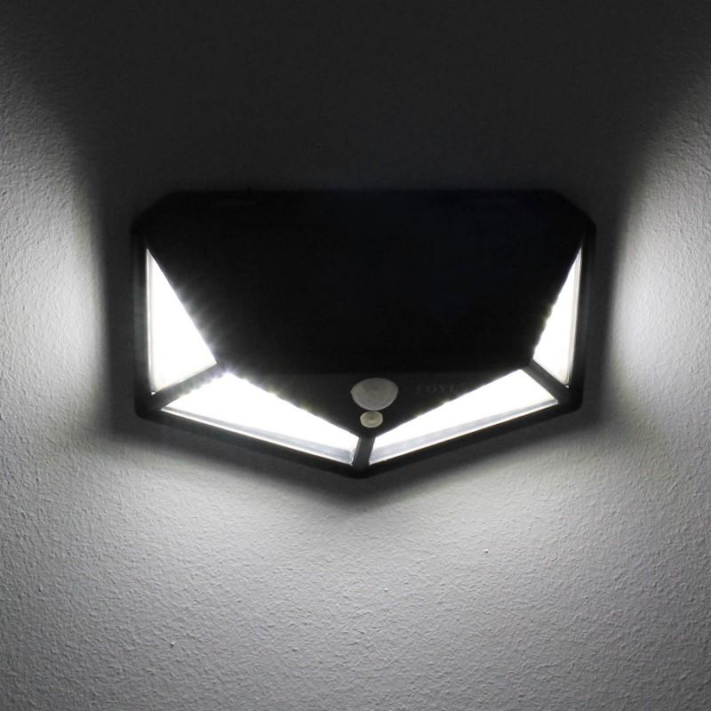 LED Ηλιακό φωτιστικό εξωτερικού χώρου 114 SMD πλαστικό 30W 700LM με αισθητήρα κίνησης 6500K IP65 FO-TA008 FOYU