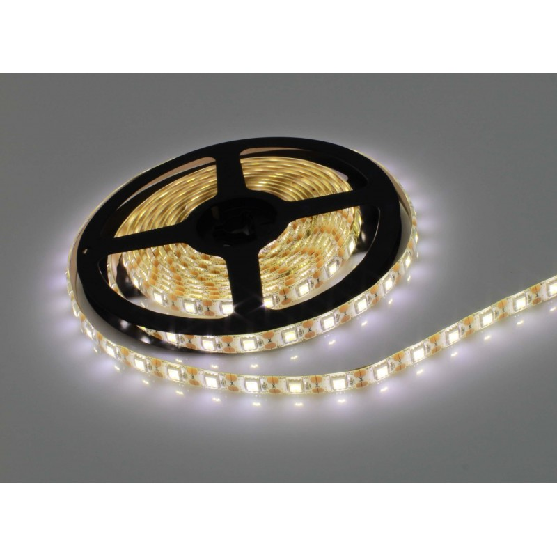 LED ταινία-strip 5050 USB 4m 19.2W warm white αδιάβροχη σιλικόνης με ταινία διπλής όψεως 3500K OEM PC led ee2963
