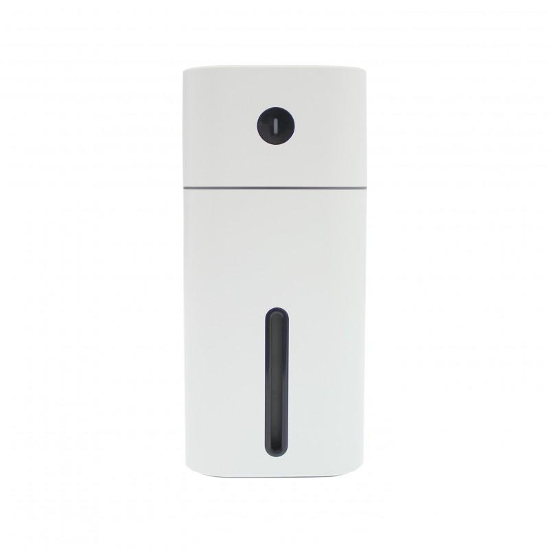 Ηλεκτρικός διαχυτής αρώματος και υγραντήρας 180mL με LED φωτισμό λευκός 10019