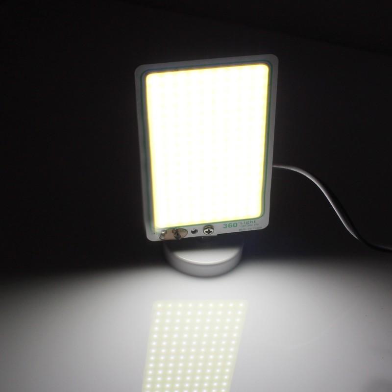 Βοηθητικό φως LED 12V 10W IP65 1080LM με μαγνήτη, κροκοδειλάκια και πρίζα αναπτήρα αυτοκινήτου TM-12COB 360° Light